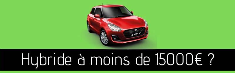 Une voiture hybride d'occasion à moins de 15000 € ?